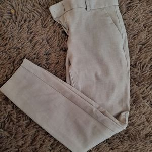 Express Gray Ankle Pants